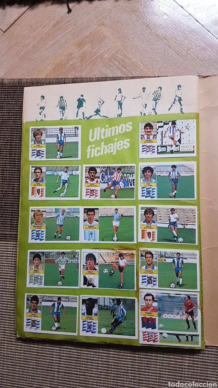 Álbum de fútbol completo: Album completo liga este 82 83 1982 1983 con Clos, Maradona e Isidro con publicidad - Foto 28 - 99806207