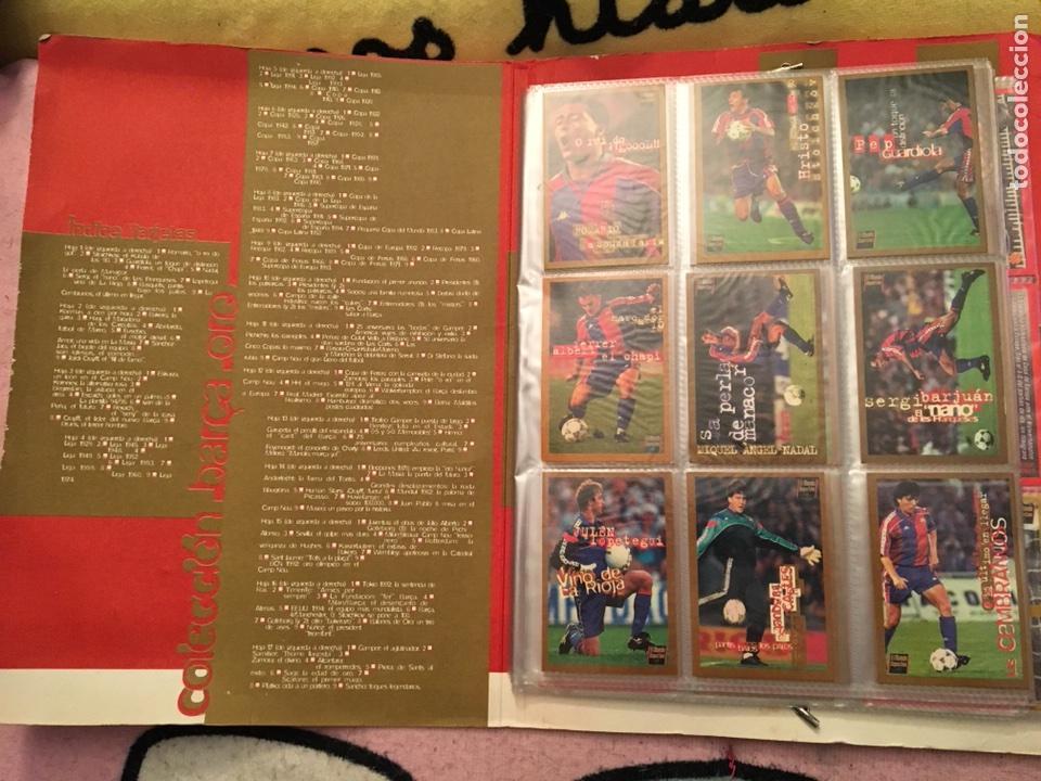 Álbum de fútbol completo: Colección cromos Barça oro completa el mundo deportivo - Foto 3 - 106539606