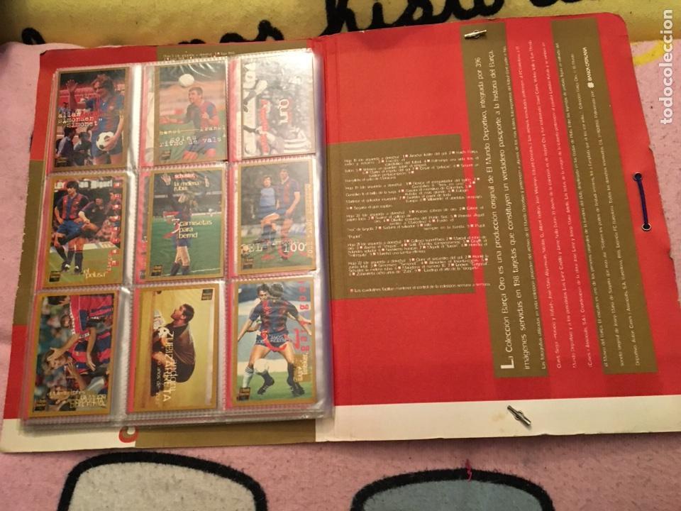 Álbum de fútbol completo: Colección cromos Barça oro completa el mundo deportivo - Foto 25 - 106539606