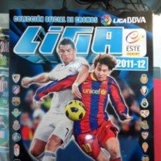Álbum de fútbol completo: ++ ÁLBUM FÚTBOL COMPLETO - LIGA ESTE 2011-2012 -CROMOS B, COLOCAS, ÁLBUM INVIERNO - LEER DESCRIPCIÓN. Lote 107298275