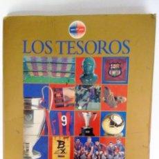 Álbum de fútbol completo: LOS TESOROS DEL F.C. BARCELONA 1899-1999. Lote 107298795