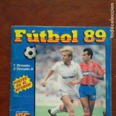 Álbum de fútbol completo: ALBUM FUTBOL 89 PANINI. Lote 126763051
