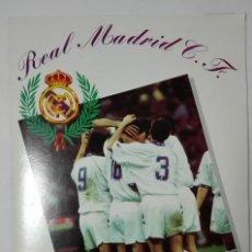 Álbum de fútbol completo: ALBUM REAL MADRID C.F. 1994-95. PRODUCTO OFICIAL.. Lote 108110571