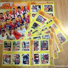 Álbum de fútbol completo: STICKERS PANINI ALBUM COMPLETO CROMO STARS REAL MADRID FC BARCELONA ATLETICO MESSI CRISTIANO RONALDO. Lote 108744387