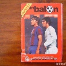 Álbum de fútbol completo: ALBUM FUTBOL LIGA 78/79 1978/79 DE DON BALON Y GENERAL DE CONFITERIA - COMPLETO (MUY MUY RARO). Lote 108803463