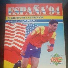 Álbum de fútbol completo: ESPAÑA 94 ( COMPLETO ) .......IMPECABLE........... Lote 108932767