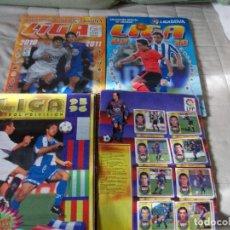 Álbum de fútbol completo: ESTE 95 96 +2009 10 + 2010 11 + REGALO LOTE DE TRES ALBUM . Lote 109067195