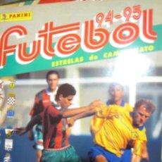 Álbum de fútbol completo: FUTEBOL 94 95 1994 1995 ALBUM FUTBOL COMPLETO CROMOS BIEN PEGADOS PANINI. Lote 109120927