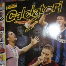 Álbum de fútbol completo: CALCIATORI 2006 07 06 2007 ALBUM FUTBOL COMPLETO CROMOS BIEN PEGADOS PANINI - RESERVADO. Lote 109121079