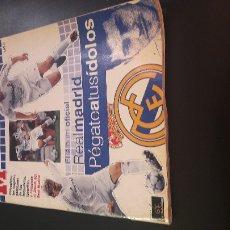 Álbum de fútbol completo: ALBUM REAL MADRID MARCA COMPLETO 05 06. Lote 106555543