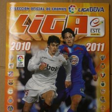 Álbum de fútbol completo: ALBUM CAMPEONATO NACIONAL DE LIGA 2010-2011. PANINI. COMPLETO. CON COLOCAS. Lote 109747895