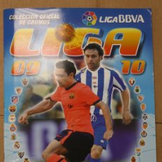 Álbum de fútbol completo: ALBUM CAMPEONATO NACIONAL DE LIGA 2009-2010. COLECCIONES ESTE. COMPLETO. CON COLOCAS.. Lote 109755802