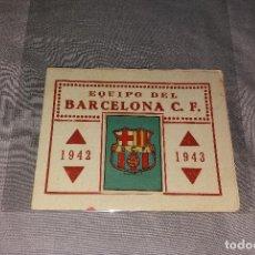 Álbum de fútbol completo: ÁLBUM CASULLERAS FÚTBOL CLUB BARCELONA, COMPLETO (ESCUDO Y ALINEACIÓN). AÑO 1942 42 1943 43. Lote 109771439