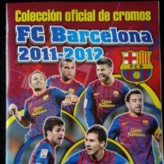 Álbum de fútbol completo: FC BARCELONA 2011 - 2012 PANINI . COLECCIÓN COMPLETA. CROMOS PEGADOS. Lote 109824183