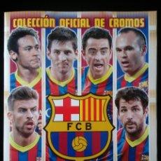 Álbum de fútbol completo: FC BARCELONA 2013 - 2014 PANINI . COLECCIÓN COMPLETA. CROMOS PEGADOS. Lote 109824759