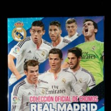 Álbum de fútbol completo: REAL MADRID 2014 - 2015. PANINI. COLECCIÓN COMPLETA. CROMOS PEGADOS. Lote 110083135