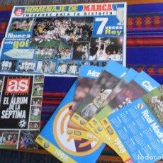 Álbum de fútbol completo: EL ÁLBUM DE LA SÉPTIMA COMPLETO Y CALENDARIO 1998 COMPLETO DIARIO AS. REGALO CARTEL DE LA 7ª MARCA. . Lote 110203679