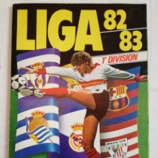 Álbum de fútbol completo: ÁLBUM CROMOS FÚTBOL 82-83 ESTE.. Lote 110252590