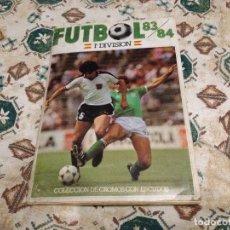 Álbum de fútbol completo: ALBUM COMPLETO CON 97 DOBLES CROMOS CANO FUTBOL 1993 1984 LIGA 83 84. Lote 110264411
