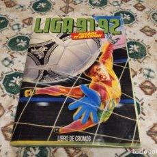 Álbum de fútbol completo: ALBUM COMPLETO EDICIONES ESTE FUTBOL 1991 1992 LIGA 91 92. Lote 110264527
