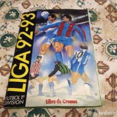 Álbum de fútbol completo: ALBUM COMPLETO EDICIONES ESTE FUTBOL 1992 1993 LIGA 92 93. Lote 110264547