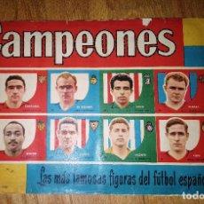 Álbum de fútbol completo: CAMPEONES 1959, 58-59 - COMPLETO - EDITORIAL BRUGUERA. Lote 110444239