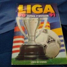 Álbum de fútbol completo: 90-91 ESTE. ALBUM MUY COMPLETO CROMOS VENTANILLA COLOCA BAJA FICHAJE BUEN ESTADO. LEER. Lote 85476928