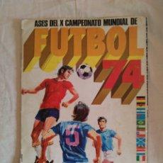 Álbum de fútbol completo: ALBUM DE CROMOS FHER MUNDIAL 1974. COMPLETO. Lote 110802335