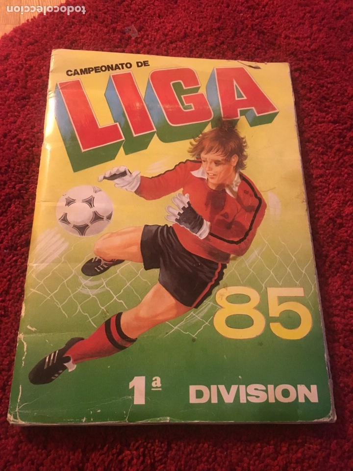 ÁLBUM CANO 1985 CAMPEONATO LIGA COMPLETO IMPOSIBLE SÓLO HOY 85 ESTE 1985 1984 1986 (Coleccionismo Deportivo - Álbumes y Cromos de Deportes - Álbumes de Fútbol Completos)