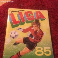 Álbum de fútbol completo: ÁLBUM CANO 1985 CAMPEONATO LIGA COMPLETO IMPOSIBLE SÓLO HOY 85 ESTE 1985 1984 1986. Lote 111381883