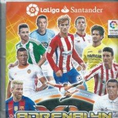 Álbum de fútbol completo: ADRENALYN 2016-17 16 2017 LA LIGA SANTANDER - ALBUM COMPLETO CON TODO, 580 TRADING CARD GAME - BIEN. Lote 111534359