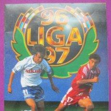 Álbum de fútbol completo: ALBUM CROMOS, FUTBOL LIGA 96-97, ESTE, DEPORTE, TIENE 493 CROMOS, 37 FICHAJES, BASTANTE COMPLETO. Lote 111782487