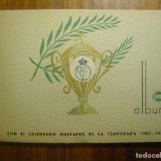 Álbum de fútbol completo: ALBUM FUT COMPLETO CON LA SELECCION ESPAÑOLA DEL MUNDIAL BRASIL 1950 . MUY BUEN ESTADO MUY RARO . Lote 111815407