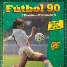 Álbum de fútbol completo: FUTBOL 90 ALBUM COMPLETO PANINI. Lote 112164083