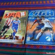 Álbum de fútbol completo: ESTE LIGA 07 08 Y 08 09 COMPLETO MERCADO INVIERNO. REGALO 116 CROMO SIN PEGAR 16 17 CON FICHAJES. Lote 115853266