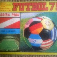 Álbum de fútbol completo: ALBUM CROMOS CAMPEONATO FUTBOL PERU 1975 100% COMPLETO NAVARRETE EDICION. Lote 86776756