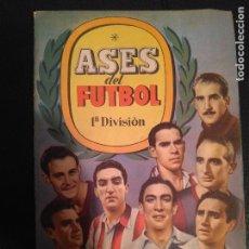 Caderneta de futebol completa: ALBUM COMPLETO ASES DEL FUTBOL 1ª DIVISION AÑO 1944 . 182 CROMOS AS SERIE C. BUEN ESTADO. 17X24 CMS. Lote 112690151