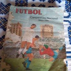 **ÁLBUM DE CAMPEONATO NACIONAL DE LIGA 1960-61 (EDICIONES FERCA, COMPLETO!!!**