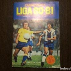 Álbum de fútbol completo: CAMPEONATO LIGA 80/81 ESTE COMPLETO . Lote 112995859
