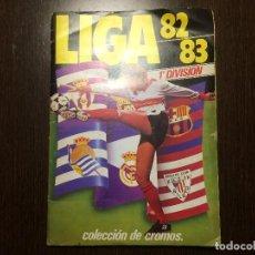 Álbum de fútbol completo: CAMPEONATO LIGA 82/83 ESTE COMPLETO . Lote 112996215