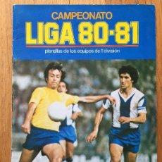 Álbum de fútbol completo: COLECCION COMPLETA ESTE 80 81, , CON LOS 4 PINTADOS, LEER. Lote 113578491