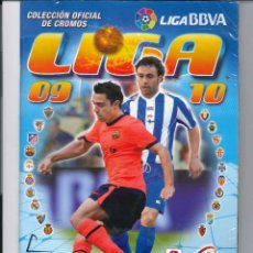 Álbum de fútbol completo: LIGA FUTBOL 2009 2010. Lote 113756923