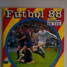 Álbum de fútbol completo: ALBUM COMPLETO CROMOS FUTBOL 88 PANINI. Lote 113813179