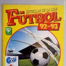 Álbum de fútbol completo: ALBUM COMPLETO CROMOS FUTBOL 92-93 ESTRELLAS DE LA LIGA PANINI. Lote 113801507