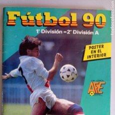 Álbum de fútbol completo: ÁLBUM COMPLETO CROMOS FÚTBOL 90 PANINI. Lote 113805858