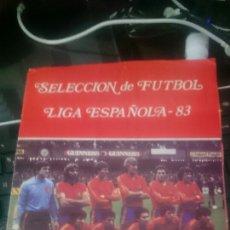 Álbum de fútbol completo: ÁLBUM COMPLETO SELECCIÓN DE FÚTBOL LIGA ESPAÑOLA -83 VER BIEN FOTOS. Lote 113899434