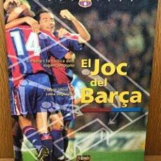 Álbum de fútbol completo: ÁLBUM JUEGO - EL JOC DEL BARÇA - FÚTBOL CLUB BARCELONA - AÑO 1994. Lote 114081923