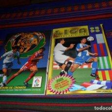Álbum de fútbol completo: ESTE LIGA 1995 1996 95 96 COMPLETO Y 1996 1997 96 97 COMPLETO SECRETARIO ANDERSSON. MUY BUEN ESTADO.. Lote 114166807