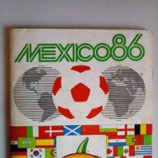 Álbum de fútbol completo: ÀLBUM COMPLETO CROMOS FUTBOL MUNDIAL MEXICO 86 PANINI. Lote 114280739