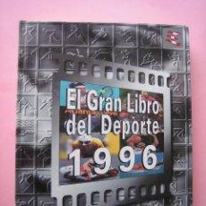 Álbum de fútbol completo: FUTBOL - EL GRAN LIBRO DEL DEPORTE 1996 - ALBUM COMPLETO CON TODOS SUS CROMOS ED.GRUPO CORREO - VER. Lote 114435003